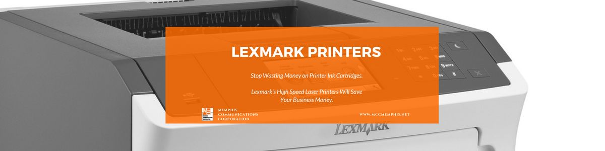 memphis communications lexmark printers header
