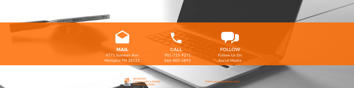 memphis communications contact banner