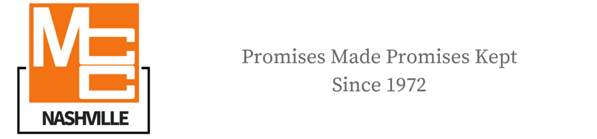 MCC Nashville - Promises Made Promises Kept Since 1972